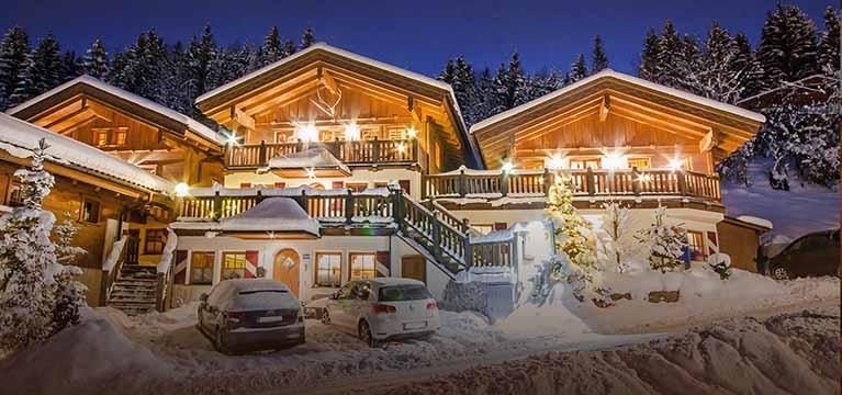 Berghof chalet flachau for Wanders chalet