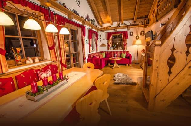Chalet Almrose für 8 - 10 Personen - Berghof Flachau
