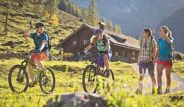 Sommer in Flachau - Berghof Chalet Flachau