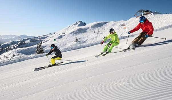 Winter in Flachau - Skifahren - Berghof Chalet Flachau